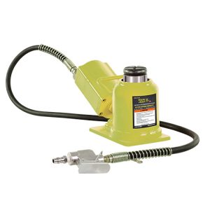ESCO 10877 Yellow Jackit Air//Hydraulic Pump 5 Qt Metal Reservoir 8 Inches Height