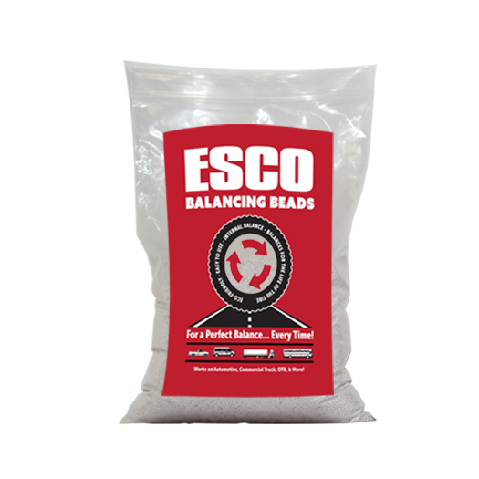 esco balancing beads truck tire  oz bag esco