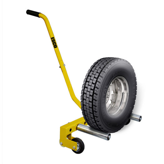 Portable Tire Lift : Esco hd adjustable wheel dolly