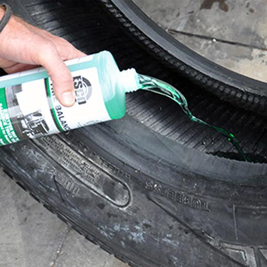 Liquid Truck Tire Balancer Esco