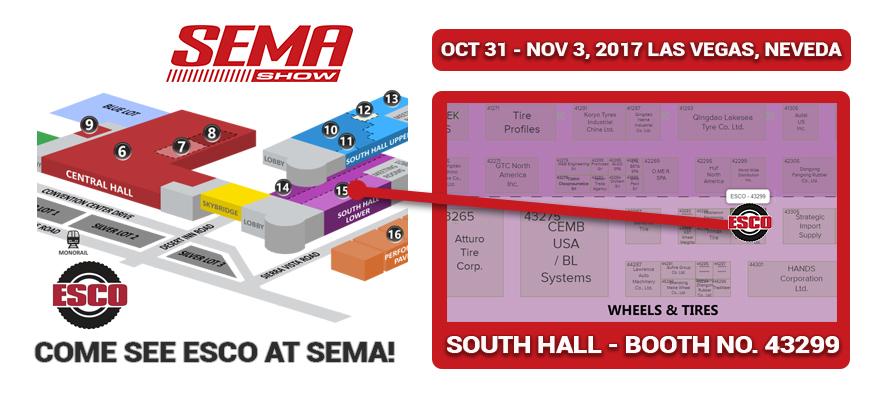 ESCO At SEMA Show 2017