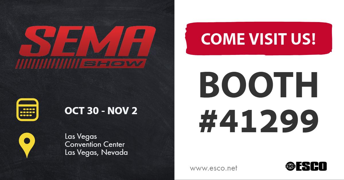 ESCO At SEMA Show 2018