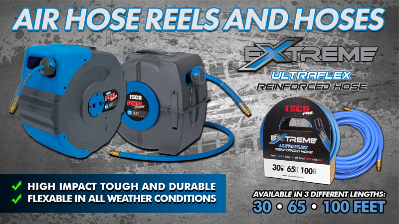 ESCO Hose Reels and Air Hoses