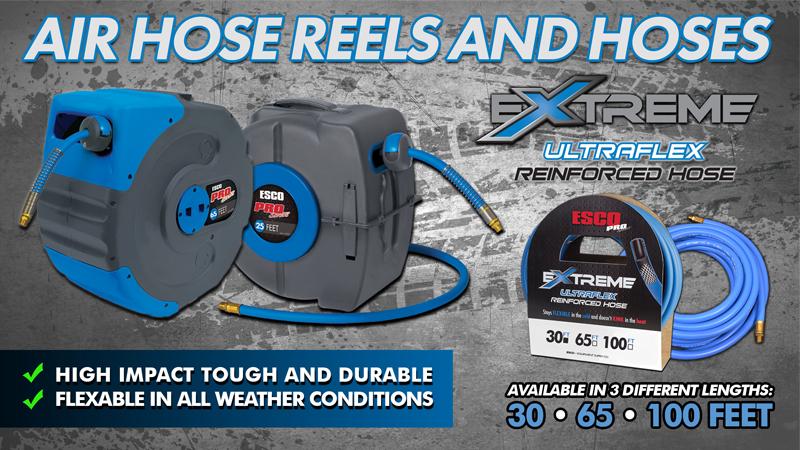 ESCO Hose Reels and Air Hoses