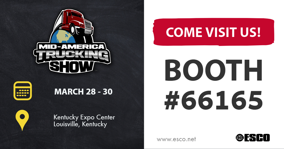 ESCO - MATS 2019 Booth Location