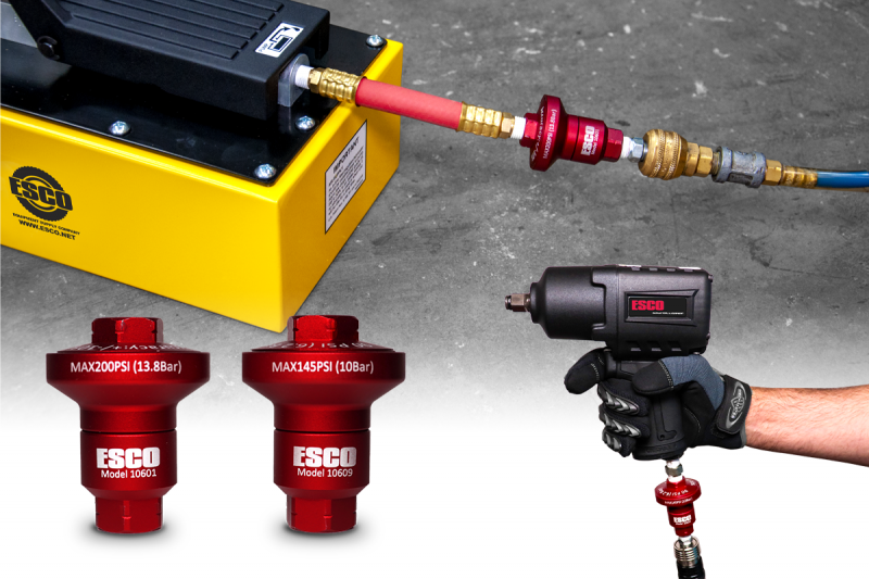 New Air Pressure Reducers by ESCO
