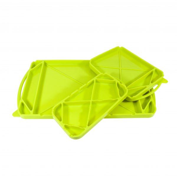 Model 80105 GeckoGrip Flexible Tray - 3 Pack